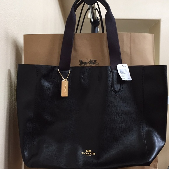 e8c1cdb14765 NEW Coach large derby tote bag. Listing Price   135